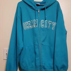 Sweat jacket (ocean city)